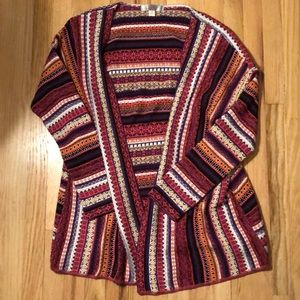 Francesca's Sweater Cardigan
